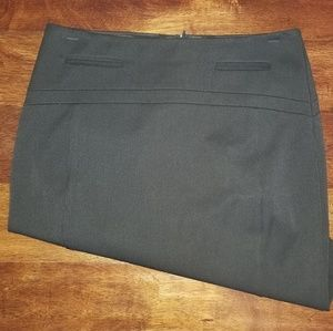Express Brown Pencil Skirt